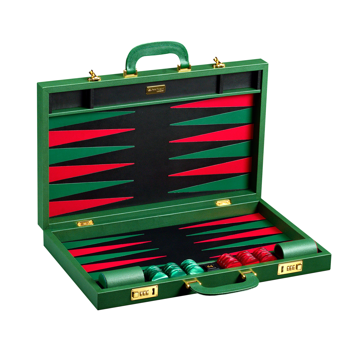 Leather backgammon